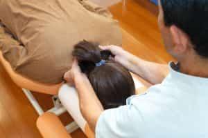 肩の筋肉の検査